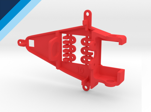 Small Can 1.0mm Offset IL - NSR compatible pod in Red Strong & Flexible Polished