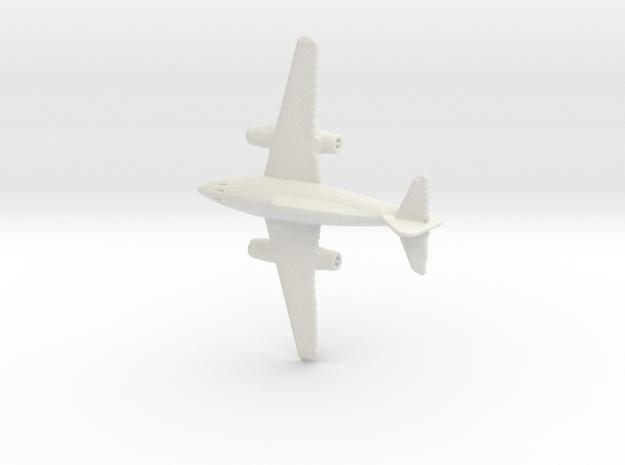 1:285 Me-262 B in White Natural Versatile Plastic