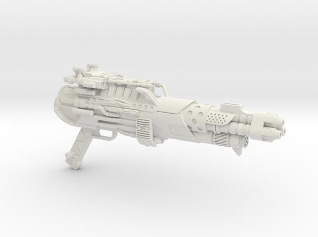 Tri-barrel Blaster for 3A Optimus Prime in White Strong & Flexible