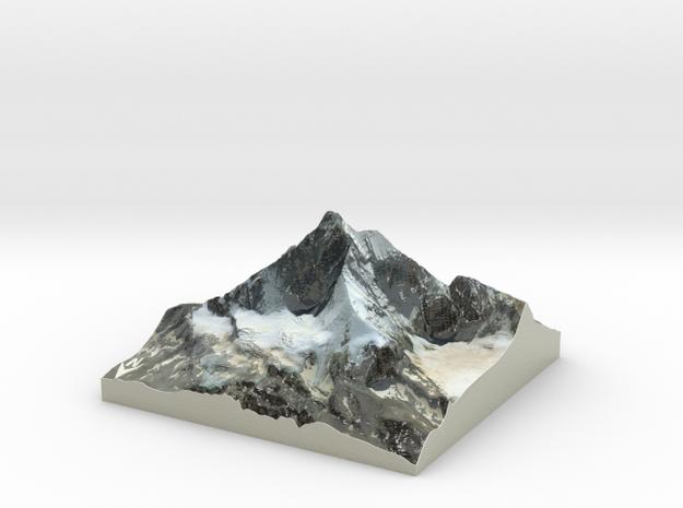 """Matterhorn / Monte Cervino Map: 4"""" (10.1 CM)"""