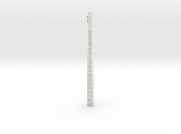1:50 Electric cement post in White Strong & Flexible