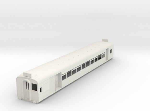 O-87-l-y-bury-middle-motor-coach in White Natural Versatile Plastic