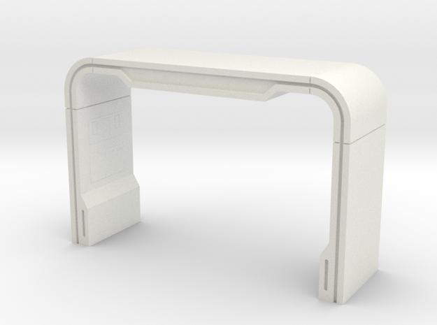 Holo Deck Arch (Star Trek Next Generation) in White Natural Versatile Plastic: 1:30