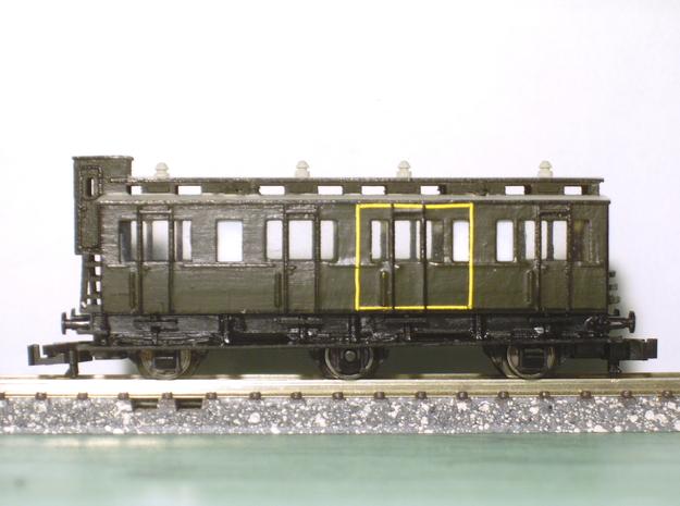 Abteilwagen I.-II. Kl. in Frosted Ultra Detail