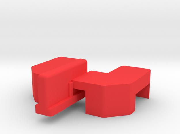 Tri-ang Big Big Train repair Leg for track in Red Processed Versatile Plastic