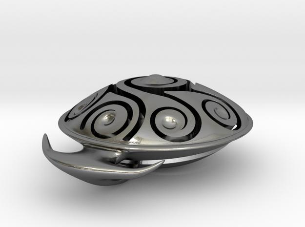 Handpan Instrument Pendant v3