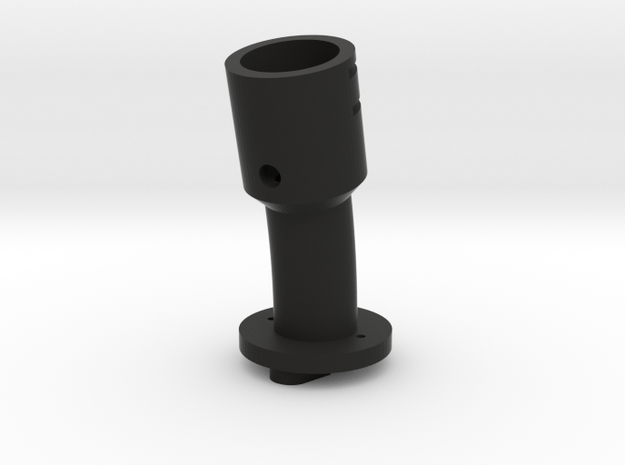 Suncom Tailpiece 13° angle in Black Natural Versatile Plastic