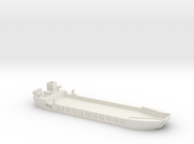 1/285 Scale LCT-5 in White Strong & Flexible