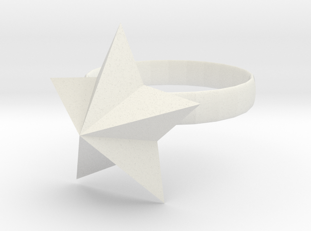 Ring Of Starpower in White Strong & Flexible