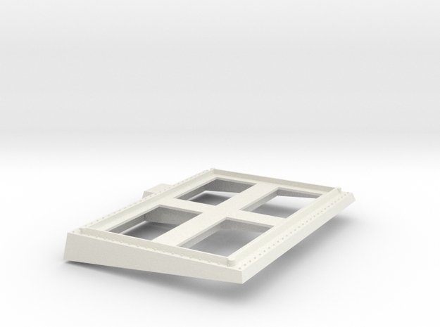 1/96 Burke VLS Frame Bow in White Natural Versatile Plastic