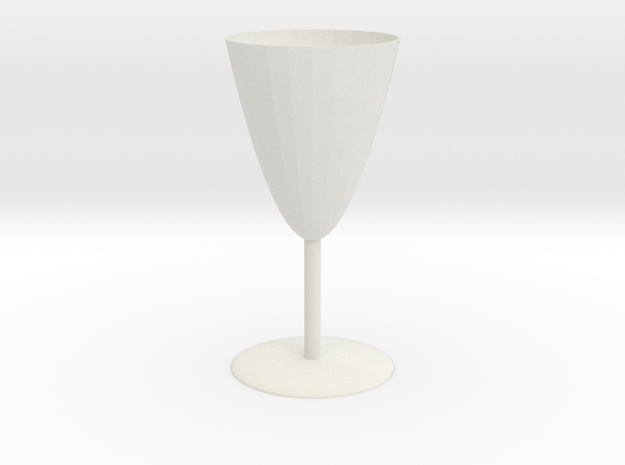 Goblet in White Strong & Flexible