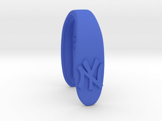 YANKEE KEY FOB  in Blue Processed Versatile Plastic