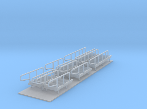 1/96 scale Bear/Famous Class - Stairs set in Frosted Ultra Detail