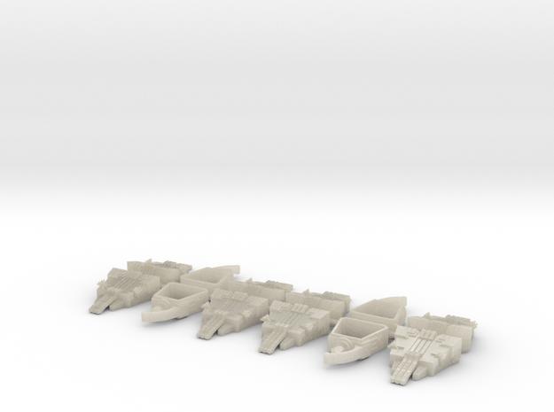 6mm Deathbot War-Pyramids (x4)