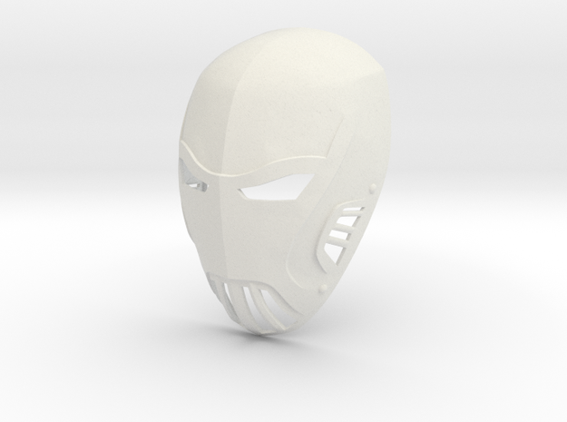 Azrael Gotham TV Series Mask  in White Strong & Flexible