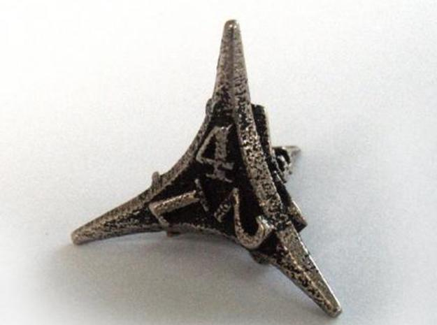 Caltrop Die4 in Stainless Steel
