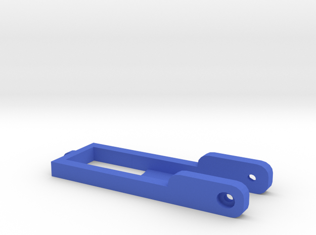 Assistie Key Holder in Blue Strong & Flexible Polished: Small