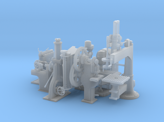Machine Tools O Scale Master Collection  in Frosted Ultra Detail
