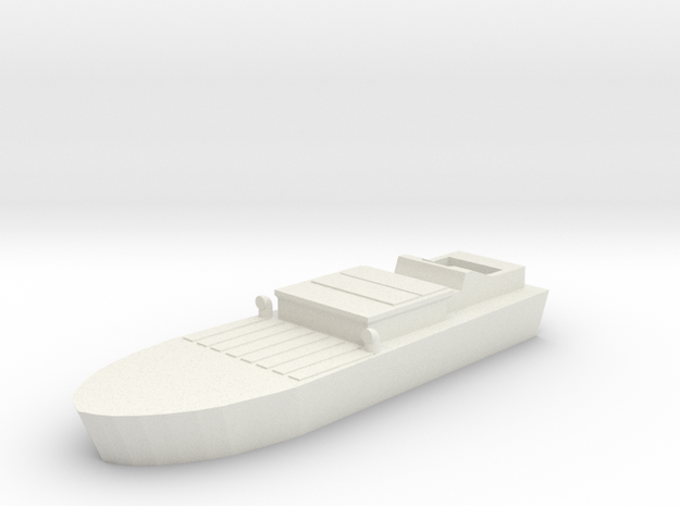 Shinyo Kamikazee Boat in White Natural Versatile Plastic
