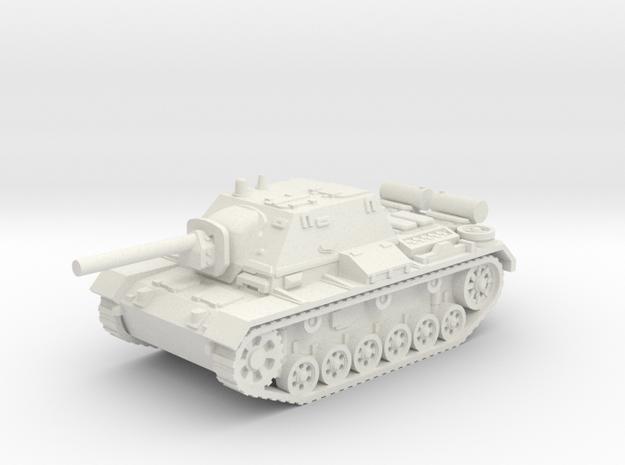 SU - 76i tank (Russian) 1/100 in White Natural Versatile Plastic