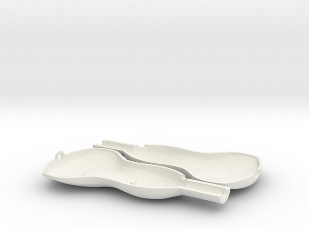 Transducer Printable in White Natural Versatile Plastic