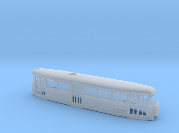 Tatra T1 Trolley TT [body] in Smooth Fine Detail Plastic
