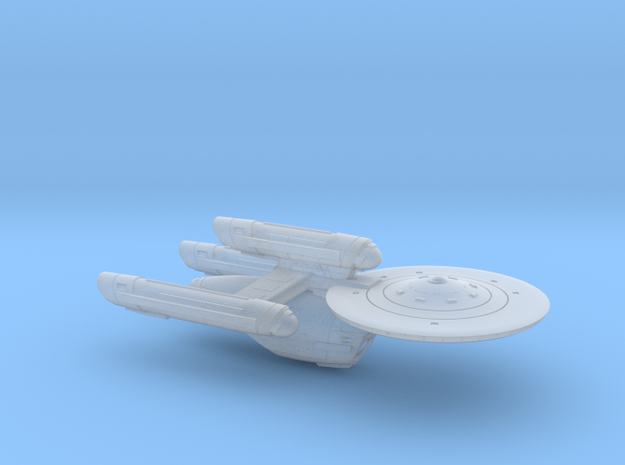 Terran Diligent Class Dreadnought - 1:7000 in Smooth Fine Detail Plastic