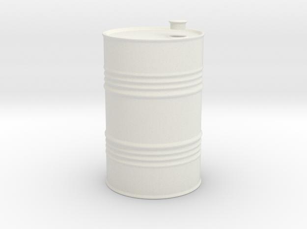 Fut Barril 1/24 in White Natural Versatile Plastic