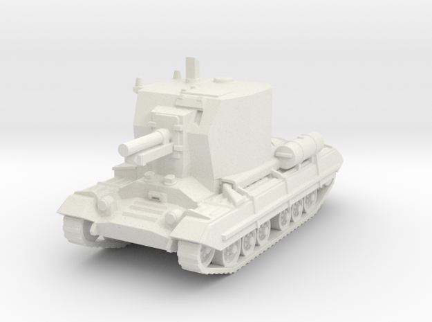 Bishop (artillery) (British) 1/100 in White Strong & Flexible