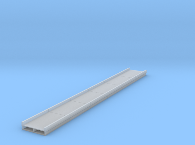 Bridge N Concrete Deck Long 6 Pack in Smooth Fine Detail Plastic