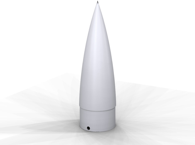 V-2 Nose Cone BT-55 in White Processed Versatile Plastic