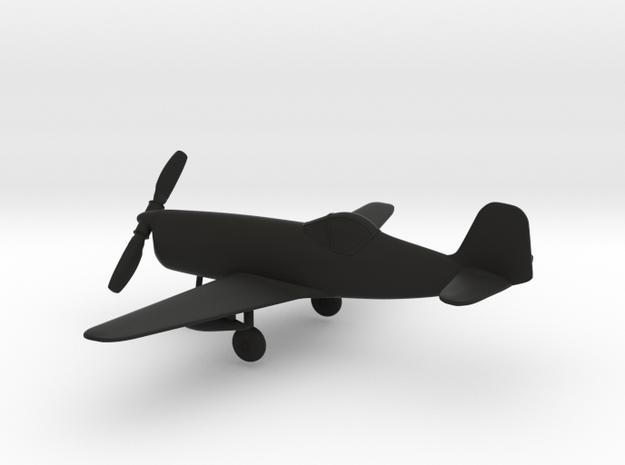 Bell XP-77 in Black Natural Versatile Plastic: 1:96