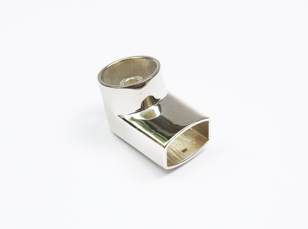Jewelry-Inhaler Silver in Polished Silver