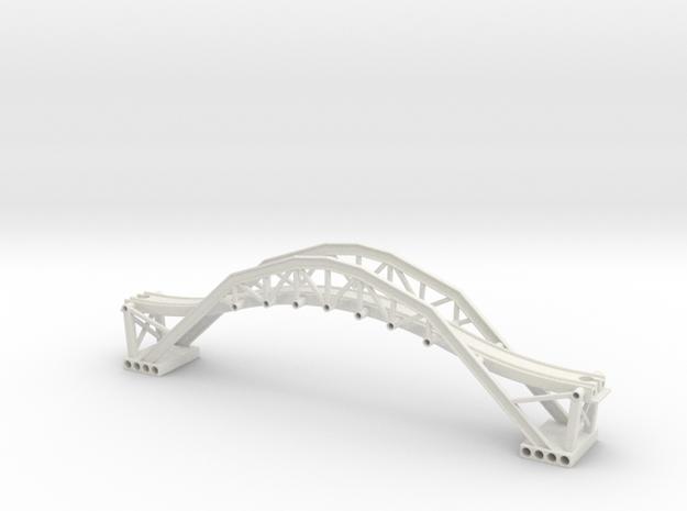 Trainbridge prototype  in White Natural Versatile Plastic