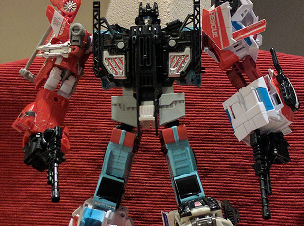 CW Defensor Hip Fillers in White Strong & Flexible