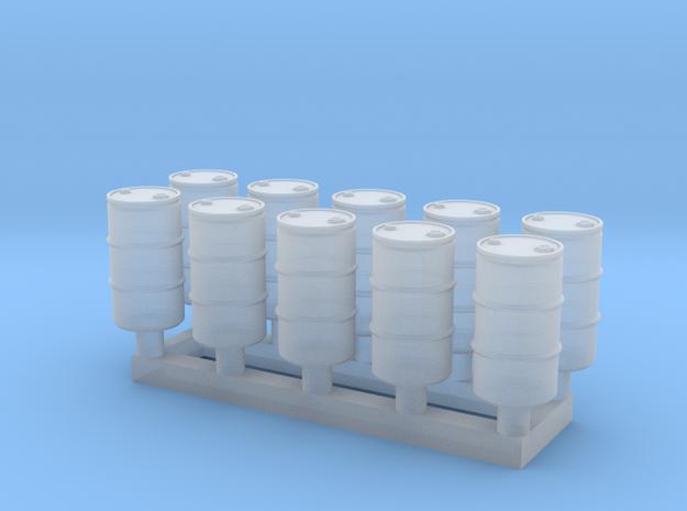 TJ-H02016x10 - Futs 60l a bondes in Smooth Fine Detail Plastic