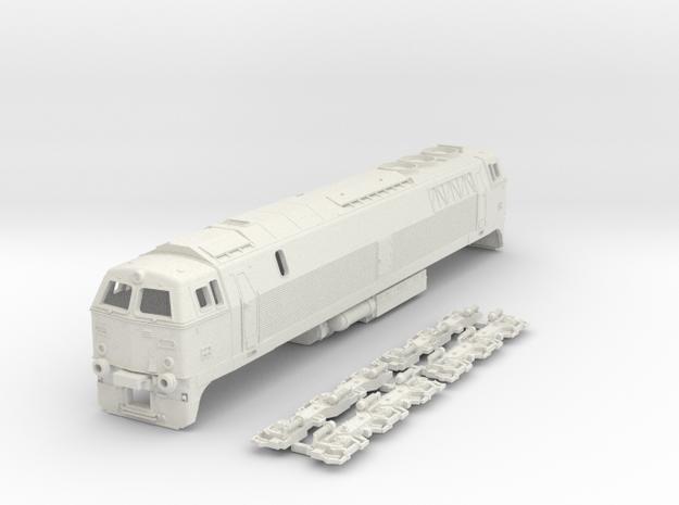 Nohab MZ III class 1/87 in White Natural Versatile Plastic