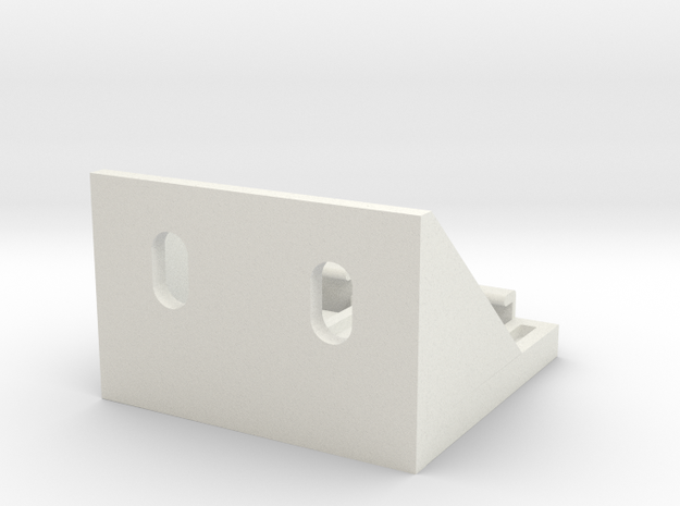 Shade Bracket 318 Luminette A in White Natural Versatile Plastic