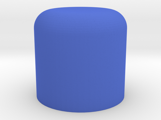 """Lightsaber Inhaler Cap - """"Lighthaler"""" in Blue Processed Versatile Plastic"""