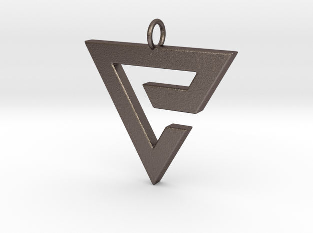 Quen Pendant in Stainless Steel