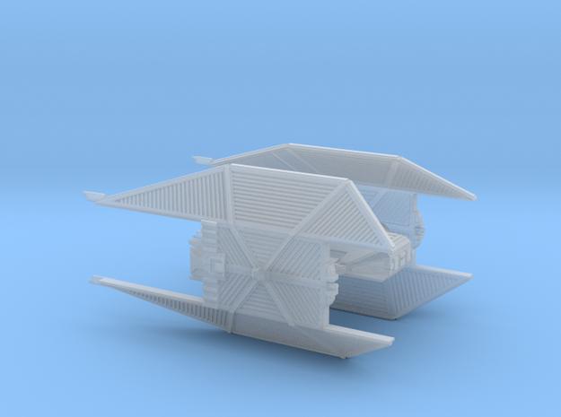 TIE Advanced MK2 high detail in Smoothest Fine Detail Plastic