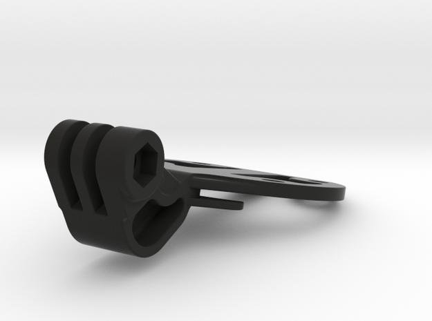 Go Pro Halterung als Aufsatz für die TT400 Halter in Black Natural Versatile Plastic