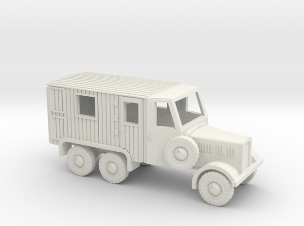 1/144 German Radio truck in White Strong & Flexible