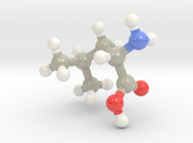 Leucine (L) in Glossy Full Color Sandstone