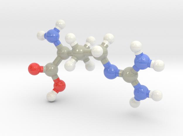 Arginine (R) in Glossy Full Color Sandstone