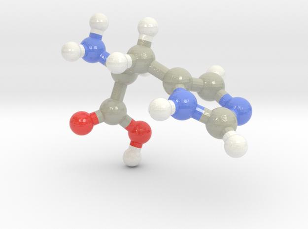 Histidine (H) in Glossy Full Color Sandstone