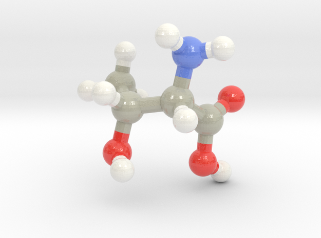 Threonine (T) in Glossy Full Color Sandstone