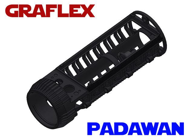 Graflex Padawan Chassis - Main chassis in White Natural Versatile Plastic