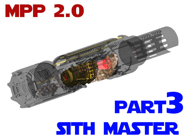 MPP2.0 Sith Master Chassis - Part3 CCinsert2 in White Strong & Flexible