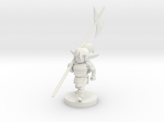Gnome Female Fighter - Pike weilder